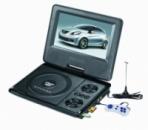 7,6 дюймов Портативный DVD плеер Opera аккумулятор TV тюнер USB