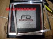 SHARP WF 939 накладки на колонки из АЛЮМИНИЯ 2 шт