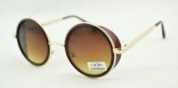 Солнцезащитные очки Cardeo гоглы в стиле стим панк коричневые