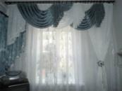 Пошив тюлей,портьер и ламбрекенов,кухонных занавесок,покрывал и подушек