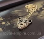 Кулон «Леопард» покритие золотом 18К