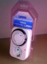 Суточный электромеханический таймер Lemanso LM661 230В/16А