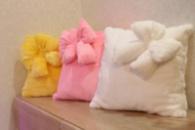 Светящаяся подушка – «Гламур с бантиком»
