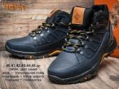 Зимние кожаные ботинки мужские, 40-45
