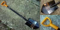Лопата Fiskars Solid удлиненная