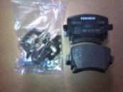 Задние тормозные колодки FDB1636 VW Jetta V, Passat B6, Golf V, Skoda Octavia A5, Audi A3