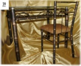 Кованый столик «Бамбук»