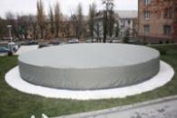 Тенты для фонтанов в Киеве. Зимние укрывные тенты. от 19 000грн. Зима близка!