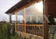 Мягкие окна из пвх для беседок и террас с любым обрамлением.