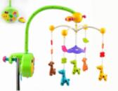 Мягкая погремушка на кроватку Коровки Kronos Toys 34665N Разноцветный(tsi_31512)