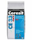 Затирка CERESIT CE 33 PLUS, белая 2 кг