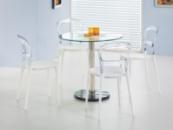 Стол со стеклянной столешницей «CYRYL + K100»
