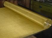 Сетка тканая латунная сталь Л-80 ширина 1000 мм