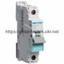 Автоматический выключатель Hager 1P 10kA D-06A 1M