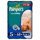 Памперс activ baby МЕГА упаковки 5 Junior (11-18 кг)-68шт
