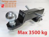 Комплект вставки 50х50 Auto-Hak для фаркопа американського зразка