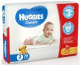 Подгузники детские Huggies Classic 3 (4-9kg) 78шт/уп