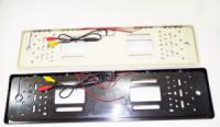 Камера заднего вида в рамке автомобильного номера с подсветкой