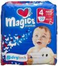 Подгузники Magics Premium 4 Maxi (7-18кг) 29шт Drylock