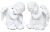 Статуэтка декоративная «Спящий Ангел» 6см