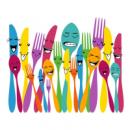 Интерьерная Наклейка Spoon and Forks
