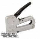Степлер рессорный 3-В-1 скоба 4-14, 11,3*0,7мм, гвоздь 14 мм, скоба 4-14, 10,6*1,2 мм, корпус металл MasterTool 41-0909