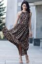 Леопардовый сарафан Emilia в пол