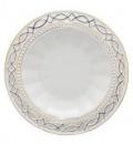 Набор 6 суповых тарелок «Кружево» Ø23см