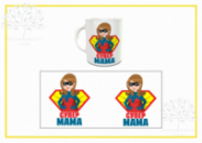 Чашка для мамы. Чашка с печатью для мамы.