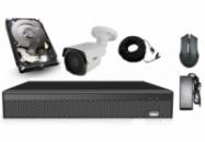 Элитный комплект видеонаблюдения Longse 4M1N c 1 камерой 4 Мп + HDD 250