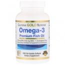 California Gold Nutrition, Рыбий жир Омега-3 премиум-класса