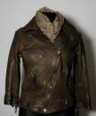 Популярная куртка-косуха / специальная технология - эммитация состаренной кожи.