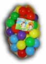 Шарики для сухого бассейна в сетке мягкие, 80 мм, 50 шаров