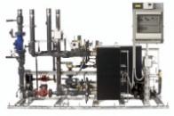 Тепловой пункт Danfoss LJ для систем отопления, вентиляции и горячего водоснабжения с разборными теплообменниками