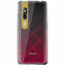 TPU чехол Epic clear flash для Vivo V15 Pro Бесцветный / Золотой