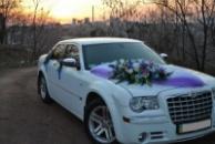 Аренда свадебного авто Chrysler 300 С и микроавтобусов