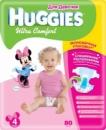 Подгузники Huggies Ultra Comfort 4 (8-14кг.) для девочек Giga Pack 80 шт/уп