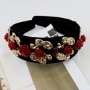 Ободок в стиле Dolce&Gabbana розы