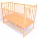 Кроватка деревянная с системой качания опускающийся бок