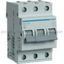Автоматический выключатель Hager 3P 6kA C-10A 3M