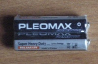 БАТАРЕЙКА СОЛЕВАЯ PLEOMAX «FEEL THE ENERGY» , 1.5V, AAA, R03