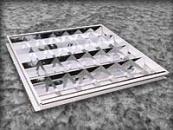 Светильник растровый зеркальный встроенный 600*600 (Харьков)