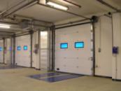 Приводы Alutech серии Levigato для гаражных секционных ворот