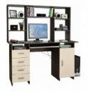 Компьютерный стол с надстройкой «Гвадалахара».