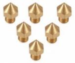 Anet 3D Printer Part Extruder Brass Nozzle Head - COPPER COLOR