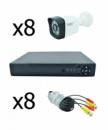 Комплект видеонаблюдения UKC D001-8CH AHD 720P 3.6 мм