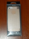 Чехол бампер Viva iPhone 5/5S Champagne Houndstooth gold