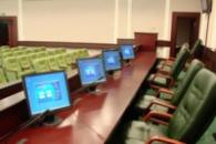 Оборудование для конференц-залов, пресс-центров.