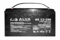 Гелевый аккумулятор Alva AS12-100Ач