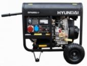 Генератор бензиновый HYUNDAI DHY 6000LE-3 5,5 кВт